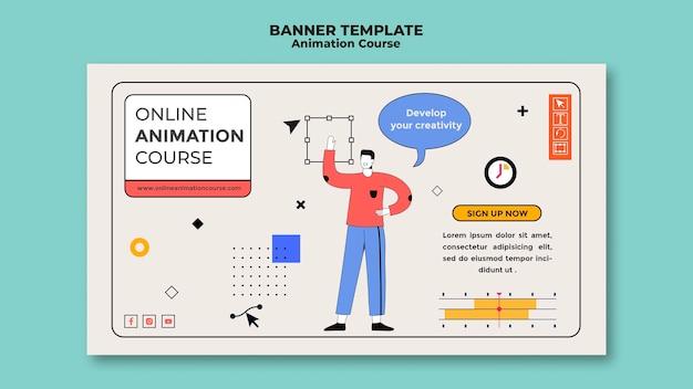 Animatie cursus banner