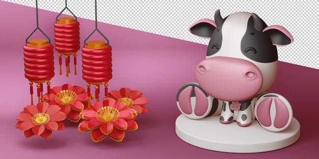 Año nuevo chino, año del buey.