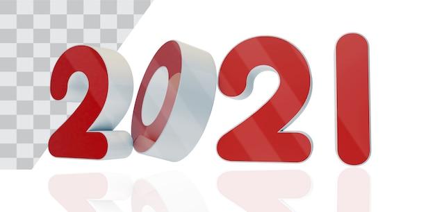 Año nuevo texto tres d