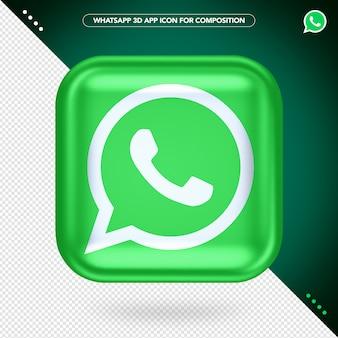 Aplicación whatsapp 3d