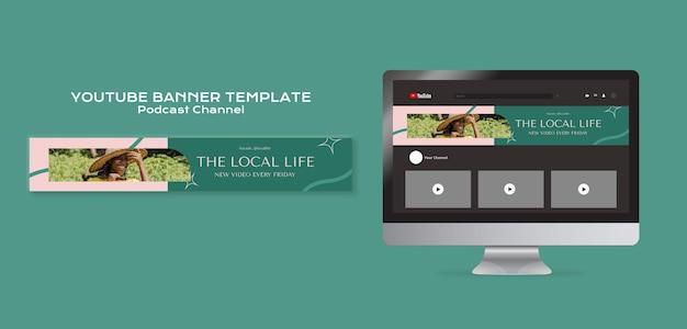 Apoya el banner de youtube de las empresas locales