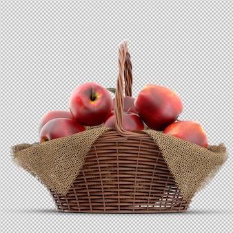 Appels 3d render