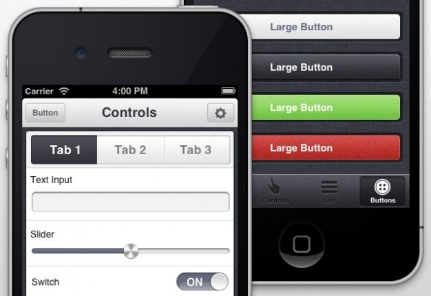 Appview tema iphone app