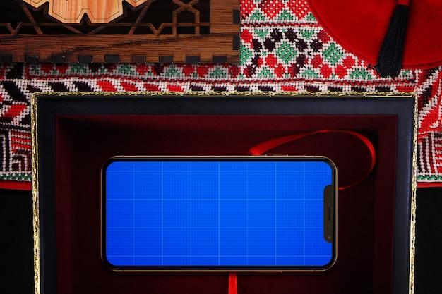 Arabische mobiele mockup