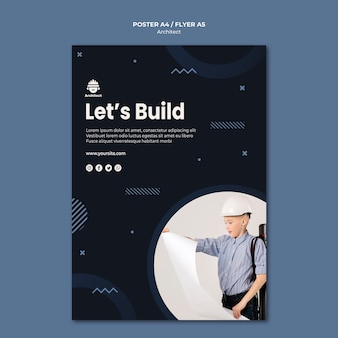 Architect carrière posterontwerp