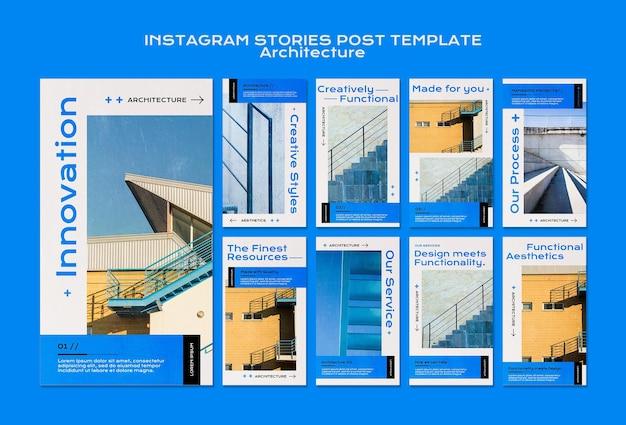 Architectuur instagramverhalen