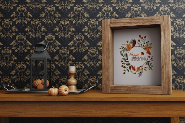 Arrangementen voor thanksgiving day