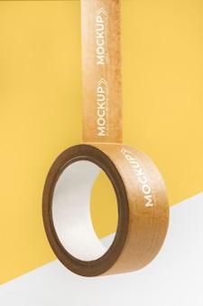 Arreglo de maqueta de cinta de embalaje