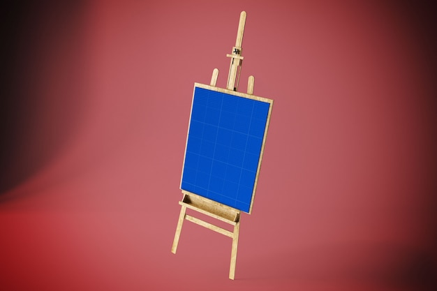 Art canvas mockup
