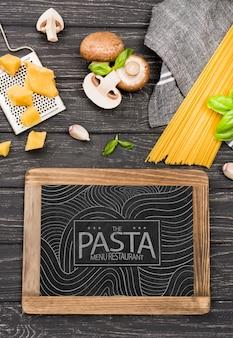 Assortiment champignons en pasta