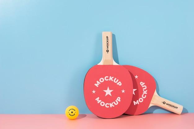 Assortiment mock-up sportelementen