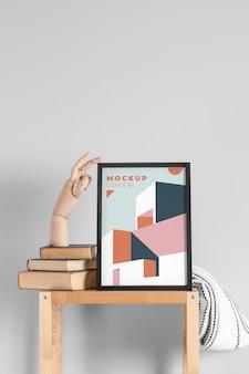 Assortiment modern mock-up frame