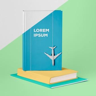Assortimento di mock-up di copertine di libri