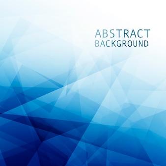 Astratto sfondo blu aziendale con figure geometriche