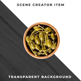 Augurken op transparante achtergrond