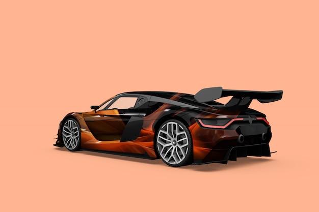 Auto mock-up geïsoleerd ontwerp