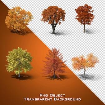 Autumn tree file vier