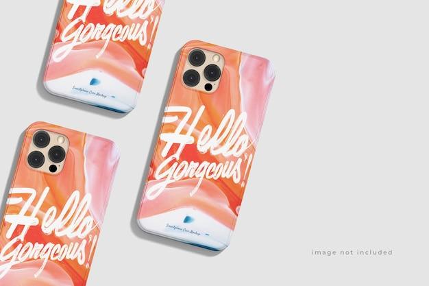 Awesome beautiful phone case mockup