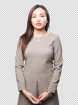 Aziatische vrouw status