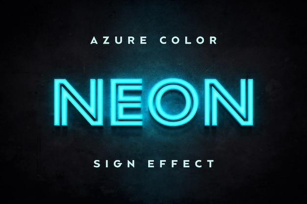 Azure-tekstsjabloon zonder tekeneffect