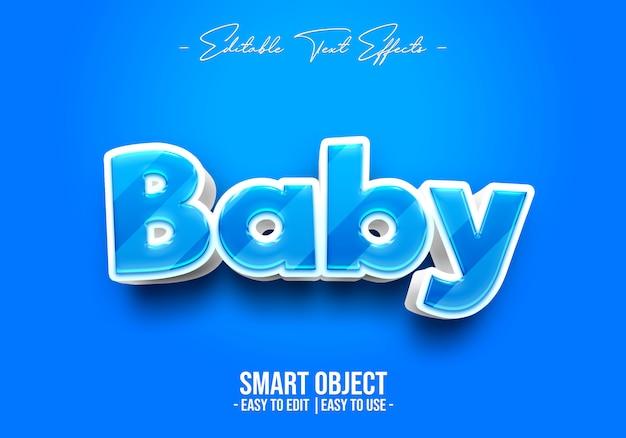Baby tekststijl