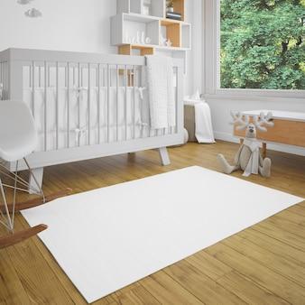 Babykamer met helderheid