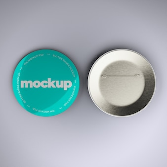 Badge knop mockup