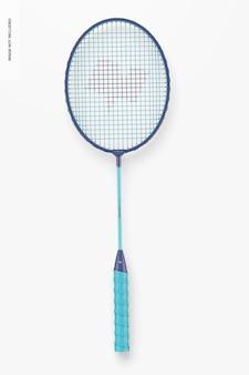 Badmintonracketmodel, bovenaanzicht