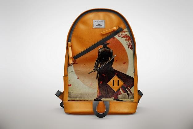Bagpack mock uporange
