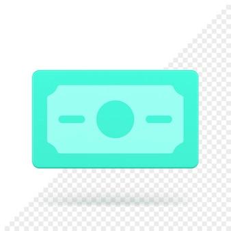 Bankbiljet 3d pictogram