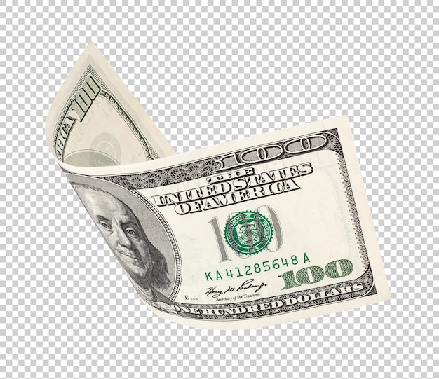 Bankbiljet van honderd dollar