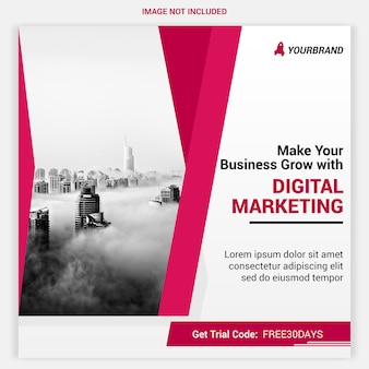 Banner de agencia digital