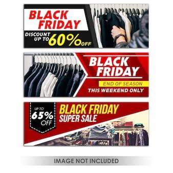 Banner black friday-aanbieding