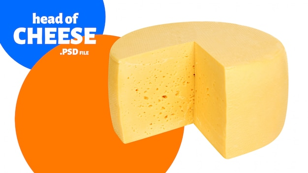 Banner de cabeza de queso