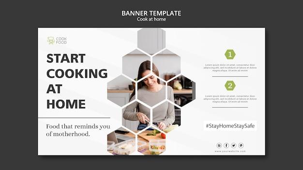 Banner de cocina en casa