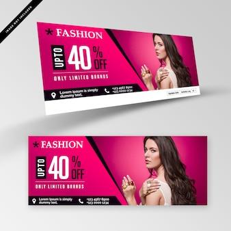 Banner di moda