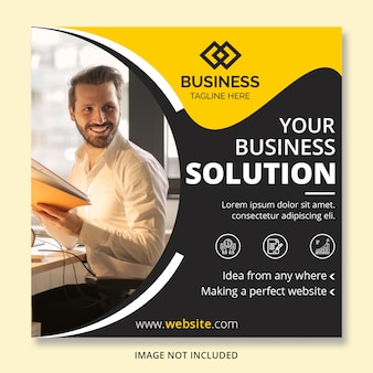 Banner di posta instagram business
