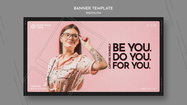 Banner horizontal para capturar tu tema
