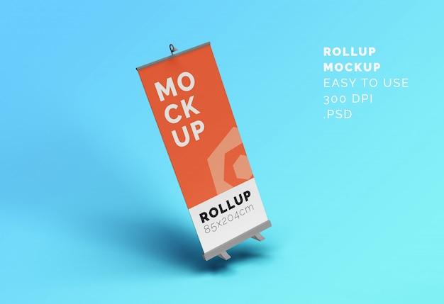 Banner roll-up mock-up