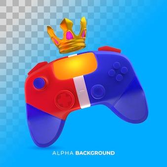 Banner de tienda de videojuegos. ilustración 3d