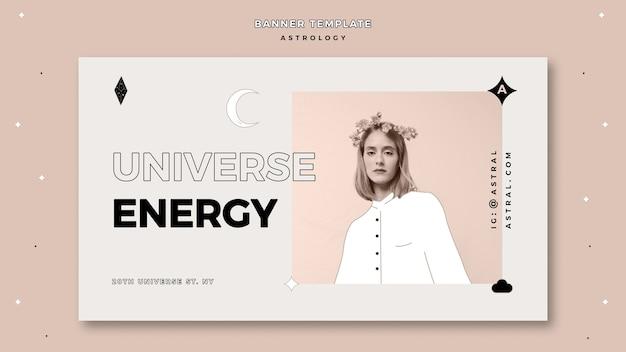 Banner voor astrologie