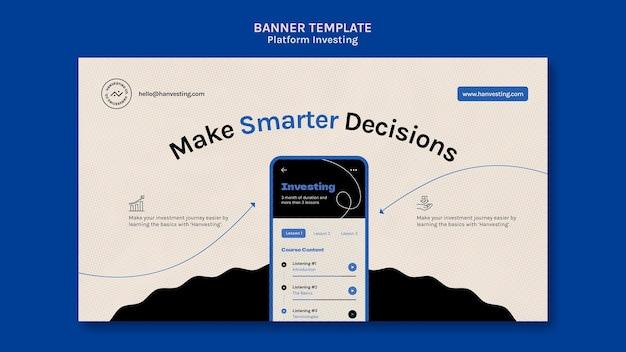 Banner voor platformbeleggen