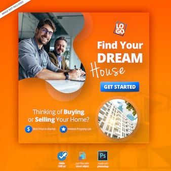 Banner web di marketing aziendale