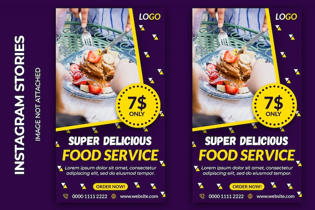 Banner web sociale alimentare