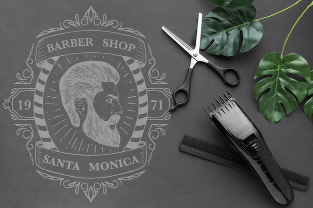 Barbershop concept mock-up