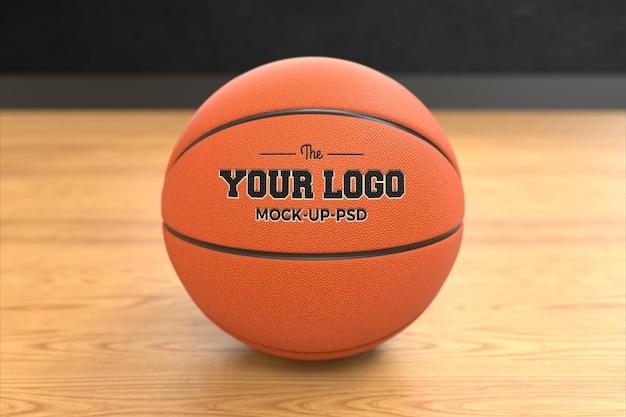 Basketbal bal mockup