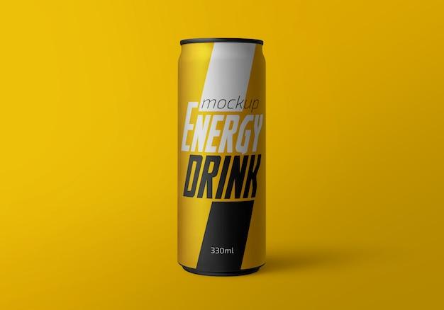 Bebida energética puede maqueta