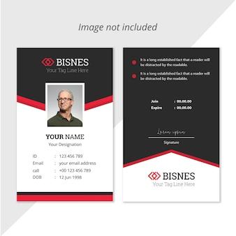 Bedrijfs id-kaart