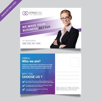 Bedrijfsbriefkaart