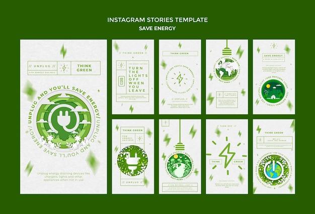 Bespaar energie op sociale media-verhalen